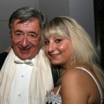 """Richard Lugner mit Anastasia """"Katzi"""" Sokol"""